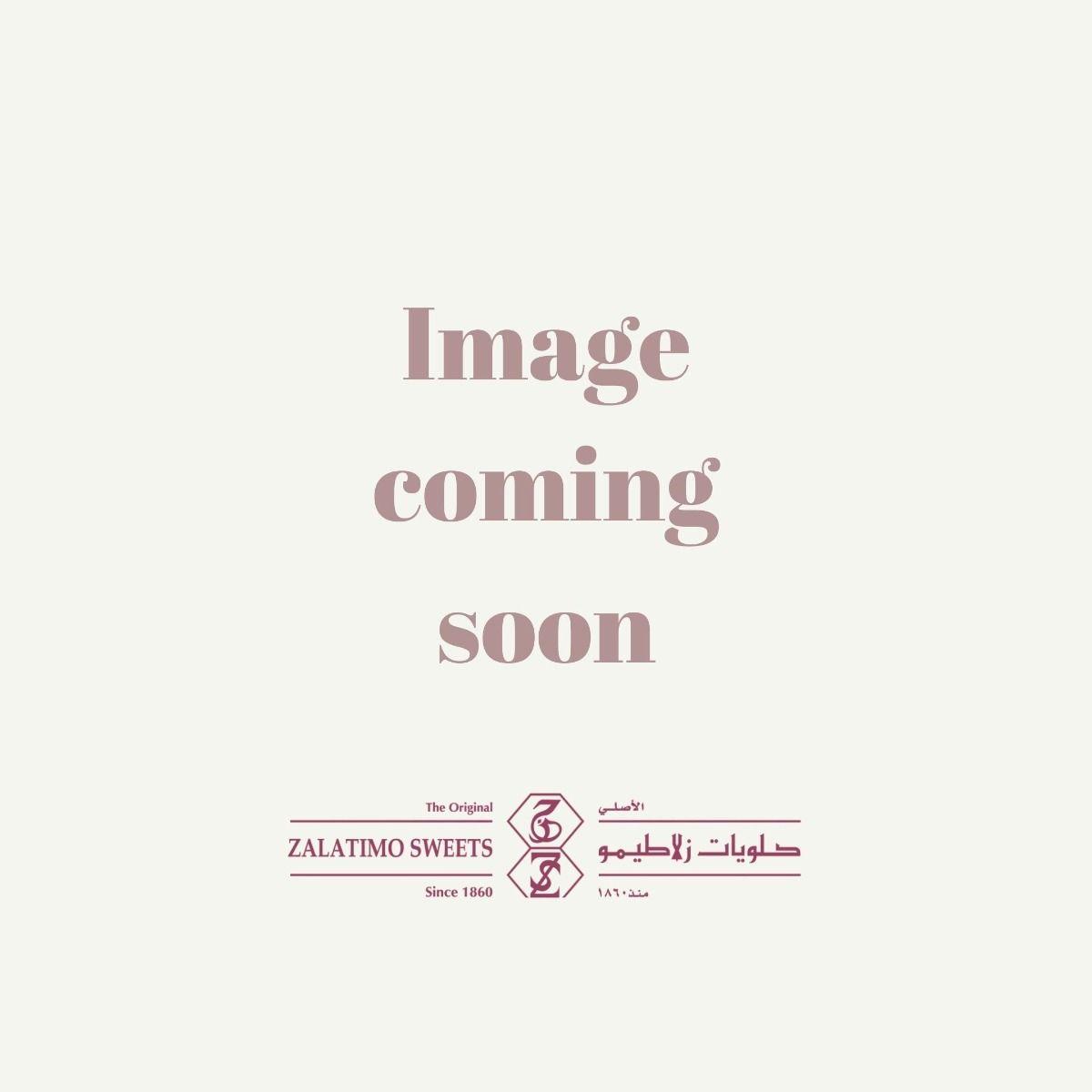 Chocolate Muhalabiyeh - Glass Plate