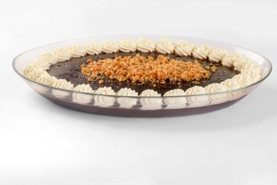 Muhalabiyeh with Chocolate - Plate