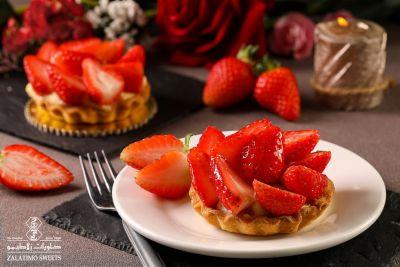Strawberry Tart - Piece